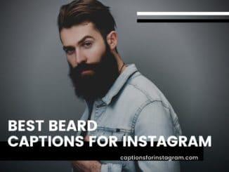 Best Beard Captions For Instagram