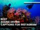 best Scuba diving captions