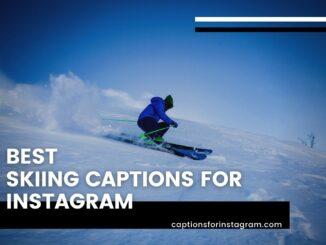 Best Skiing captions for instagram