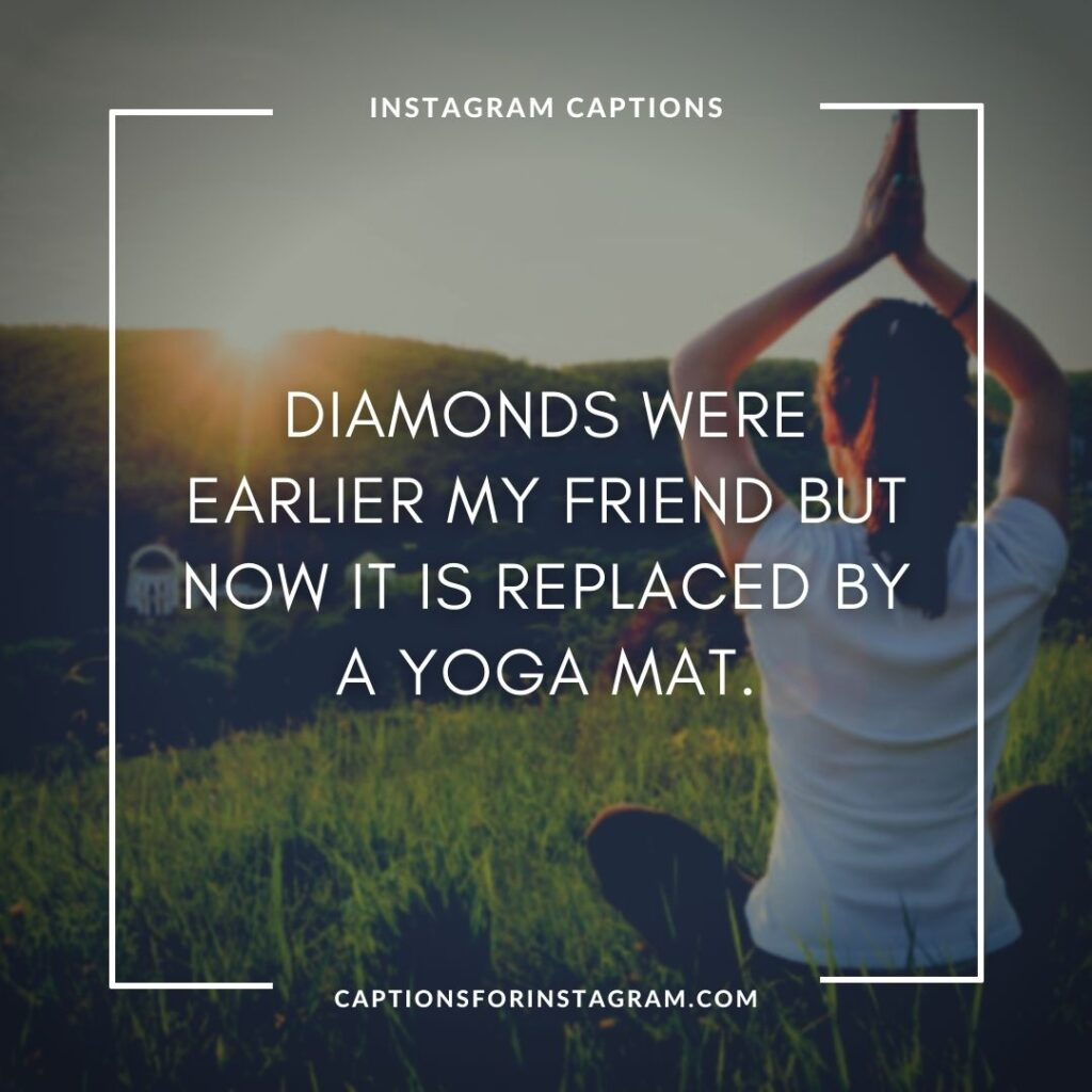 Yoga captions