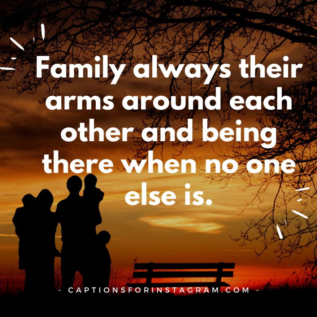 captions for family pictures